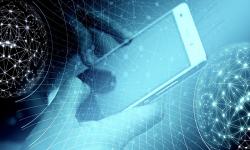 teléfono celular y datos