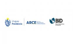 Logo de Presidencia y Agencia de Compras junto al del BID