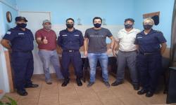 equipo de trabajo en cárceles