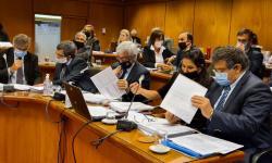Comisión de Presupuesto int con Hacienda del Senado