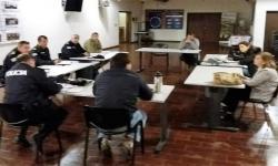 Integrantes de la Comisión en una de las reuniones del año