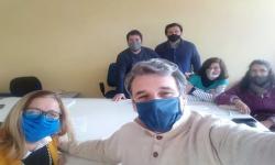 Participantes a la reunion de CAD Paysandú