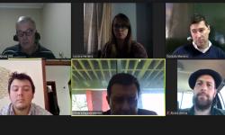Participantes de reunión virtual