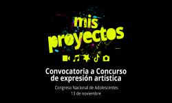 Mis proyectos: convocatoria a concurso de expresión artística