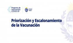 Placa del Plan de vacunación
