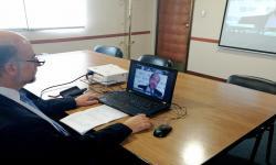 Ministro en Cumbre virtual de la OIT