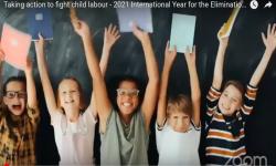 Evento virtual inauguración Año Internacional para la Eliminación del Trabajo Infantil