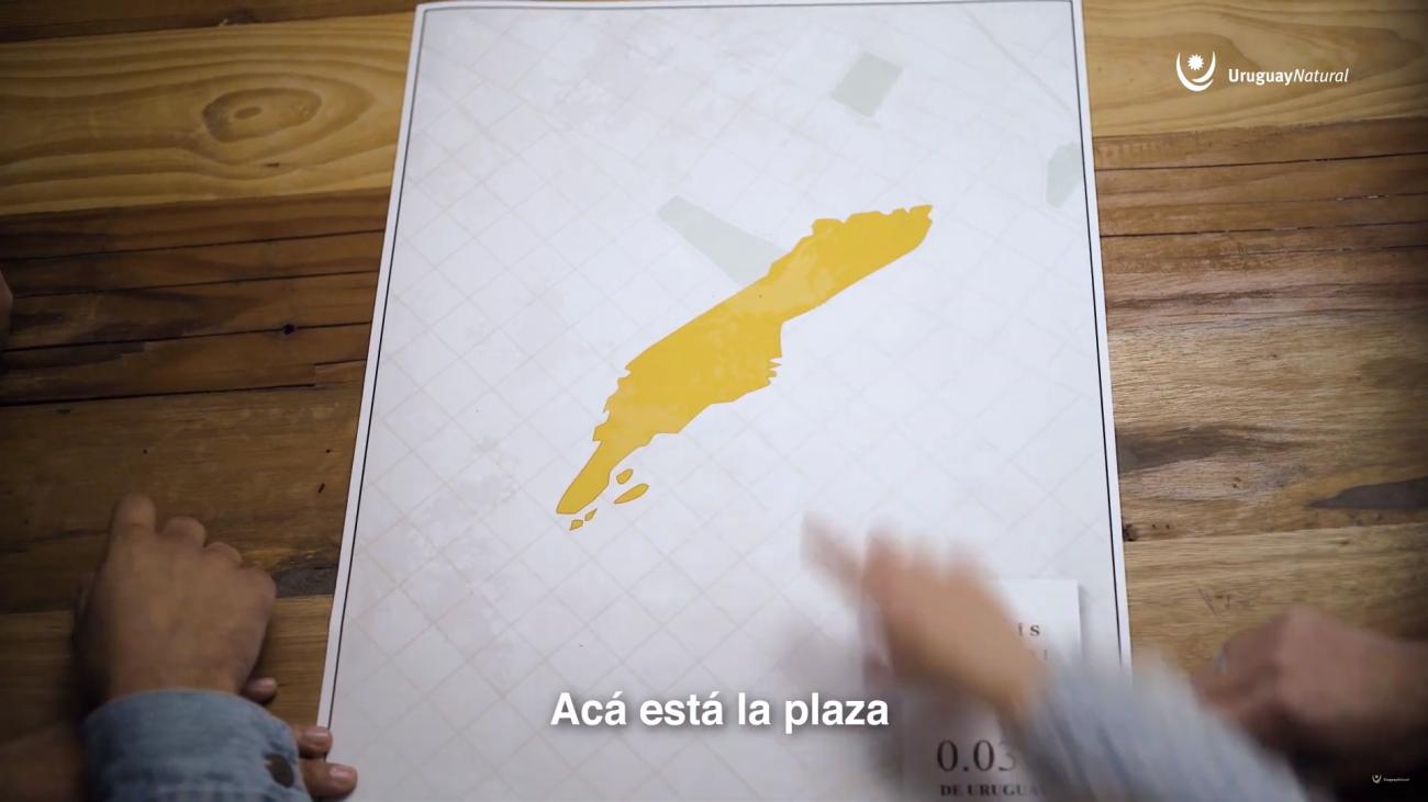Mapa de la rutina de un niño