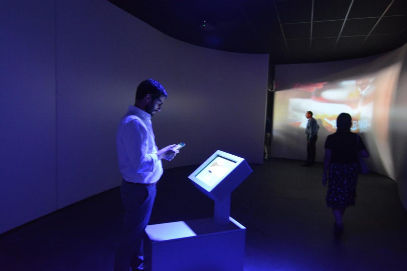 La nueva sala cuenta con pantallas interactivas y paisajes sonoros