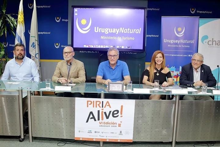 Lanzamiento VI Edición Piria Alive en Ministerio de Turismo