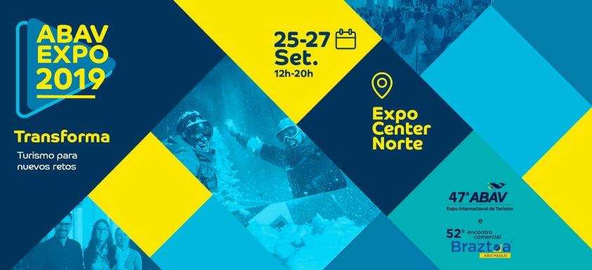 Banner de ABAV del 25 al 27 de setiembre