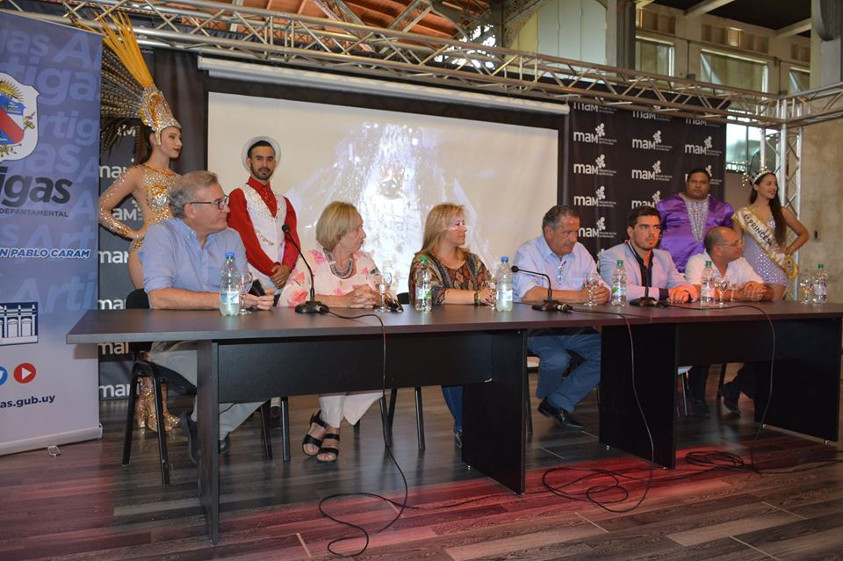 Lanzamiento del Carnaval 2020 en el MAM