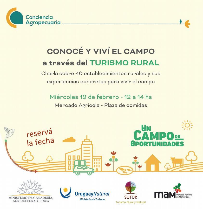 Charla en el MAM sobre Turismo Rural
