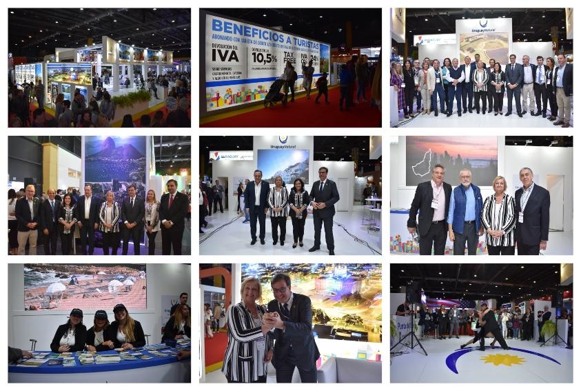 Diversidad de fotos que incluye a las autoridades del Ministerio de Turismo, directores de intendencias, operadores, etc