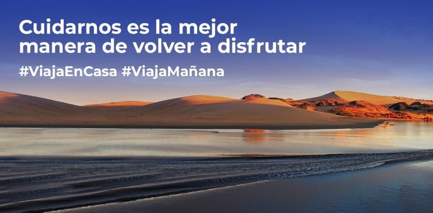 Cuidarnos es la mejor manera de volver a disfrutar #ViajaMañana
