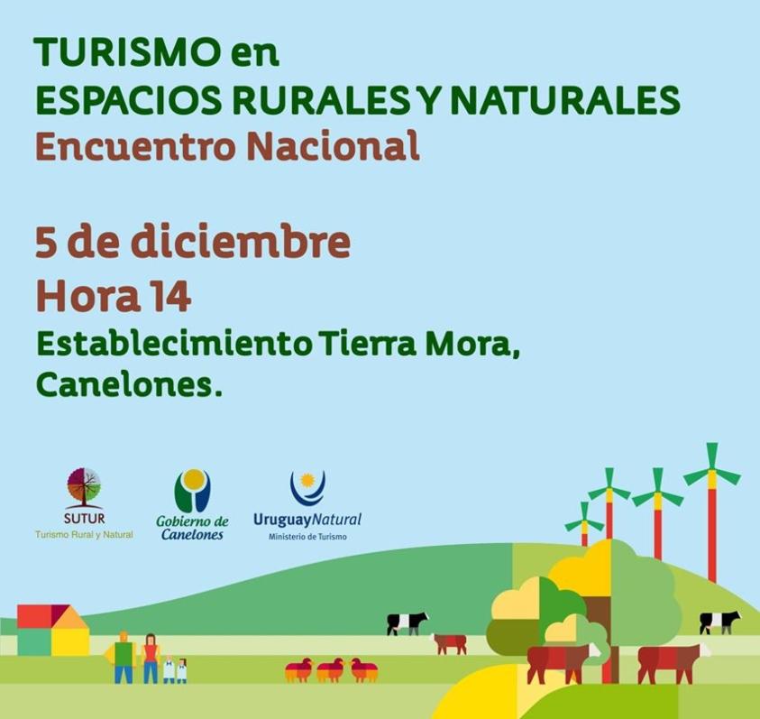 5 de diciembre, 14 horas: Encuentro Nacional de Turismo en Espacios Rurales y Naturales