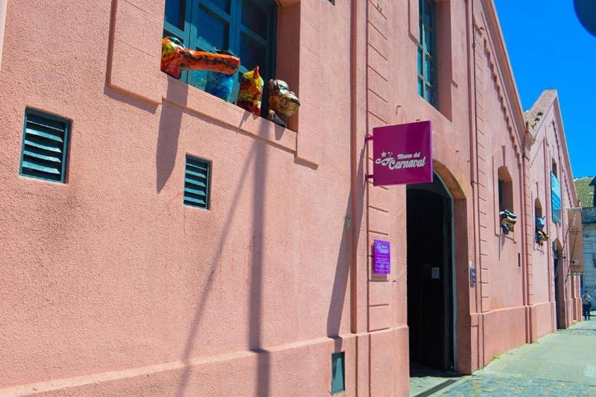 Entrada sala de espectáculos del Museo del Carnaval