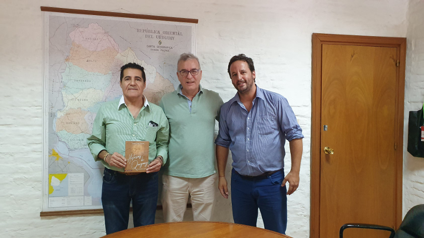 Fagetti, Pardo y Giardello reunidos