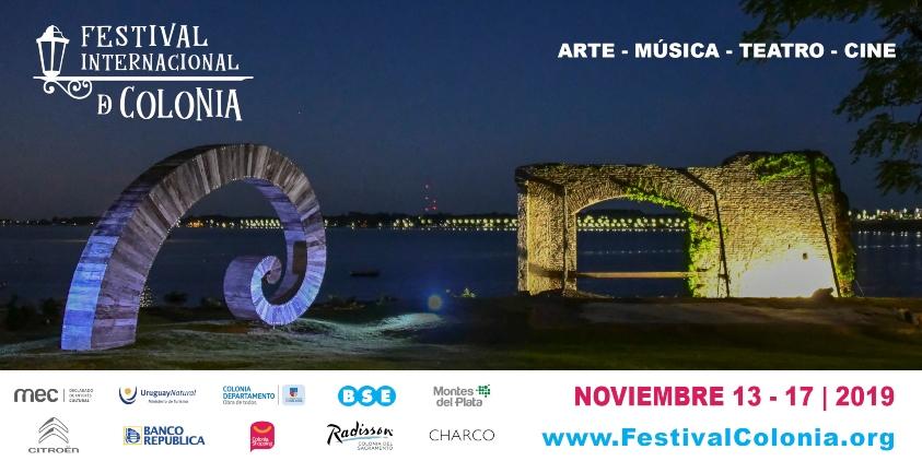 Afiche II Festival Internacional de Colonia, del 13 al 17 de noviembre