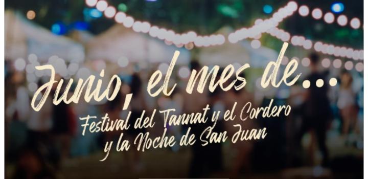 Junio mes del Tannat y el Cordero y la Noche de San Juan