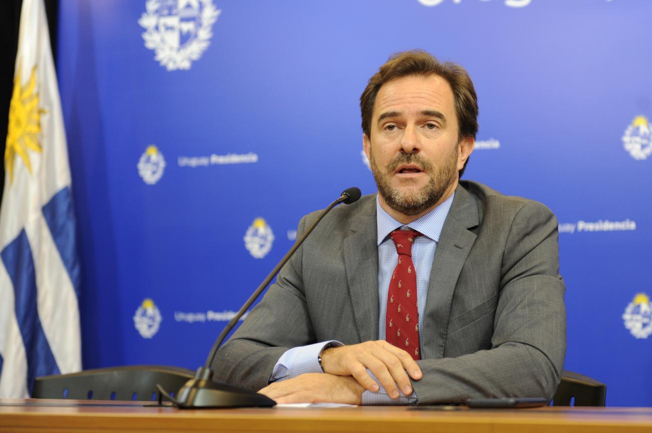 Ministro de Turismo Germán Cardoso