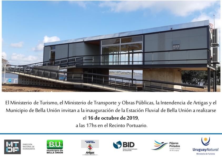 Invitación a participar el 16 de octubre a las 17:00 en el recinto portuario de Bella Unión
