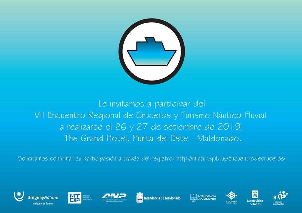 Invitación VII Encuentro de Cruceros: 26 y 27 de setiembre