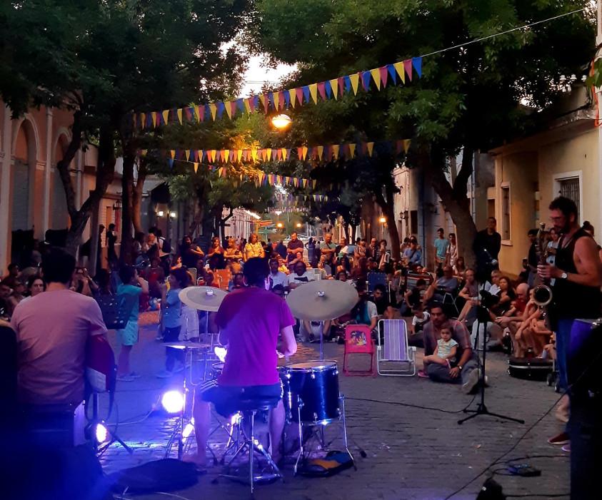 Encuentro de jazz a la calle, Mercedes, departamento de Soriano