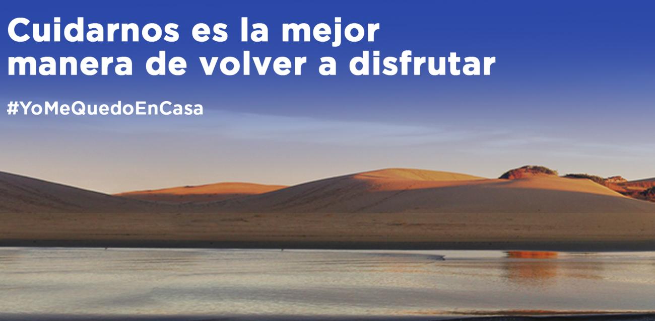 Cuidarnos es la mejor manera de volver a disfrutar #YoMeQuedoEnCasa