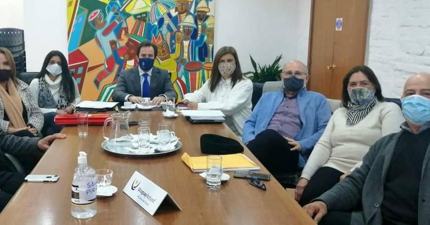 Reunión del ministro Cardoso con la Corporación Rochense de Turismo