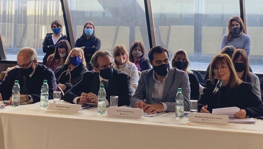 Subsecretario Remo Monzeglio en Sesión de Consejo Nacional de Género