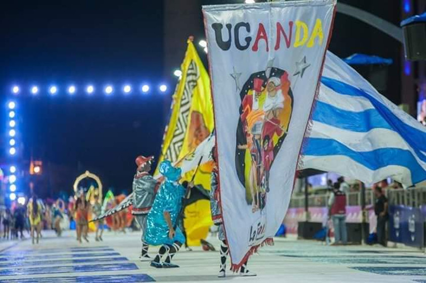 Uganda presente en el Carnaval de Encarnación