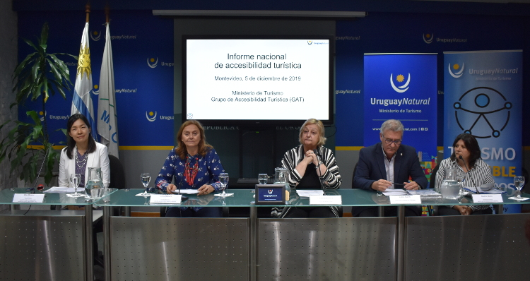 Autoridades presentan informe nacional de Accesibilidad