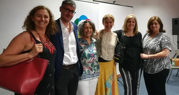 Comité de Género del Mintur  y representantes INMUJERES