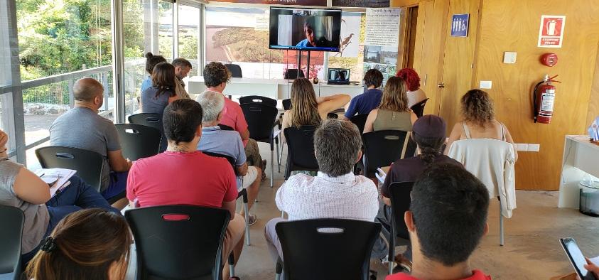 Presentación en Bella Unión de herramienta para eventos náuticos verdes