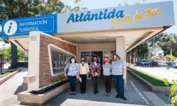 Beatriz Muniz, Gimena Chiazzaro, Ximena Acosta, Lourdes Gordano y Rossana Pastorino