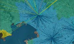 mapa que muestra el análisis de la cobertura asistencial de Elepem