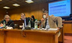 Autoridades de OPP y ONSC en el Parlamento