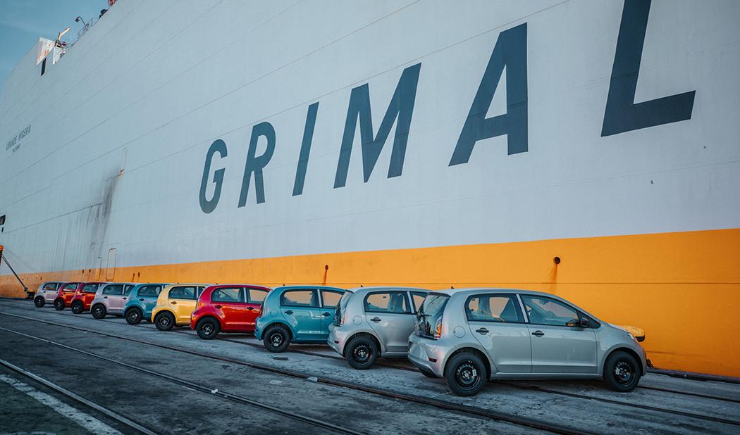 Vehículos eléctricos en Puerto de Montevideo