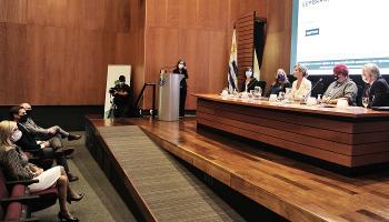 Presidente Lacalle Pou en presentación de Sembrando