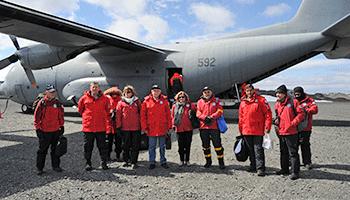Misión de gobierno uruguayo en la Antártida
