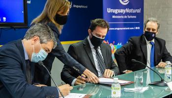 Ministerio de Turismo firma comodato con la Administración Nacional de Puertos