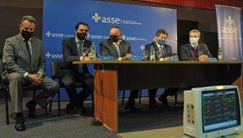Autoridades del Gobierno y de ASSE