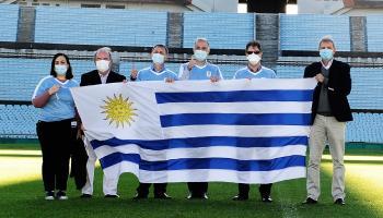 Sebastián Bauzá y delegación de médicos israelíes visitan Estadio Centenario
