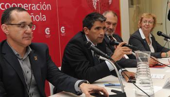 Vicepresidente de la República, Raúl Sendic, en foro iberoamericano