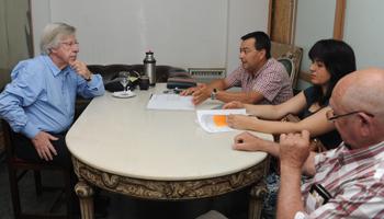 Astori reunido con organizaciones sociales de Treinta y Tres