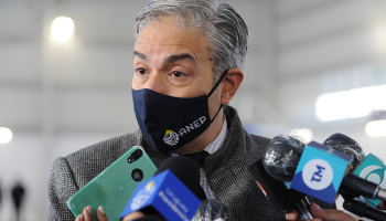 Robert Silva en rueda de prensa