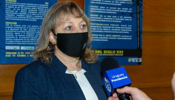 Presidenta de UTE, Silvia Emaldi