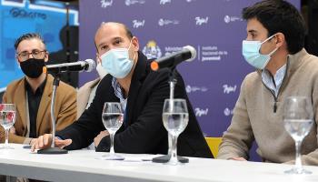 Martín Inthamoussú, Martín Lema y Felipe Paullier