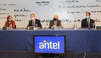 Autoridades de Antel, MEC y ANII